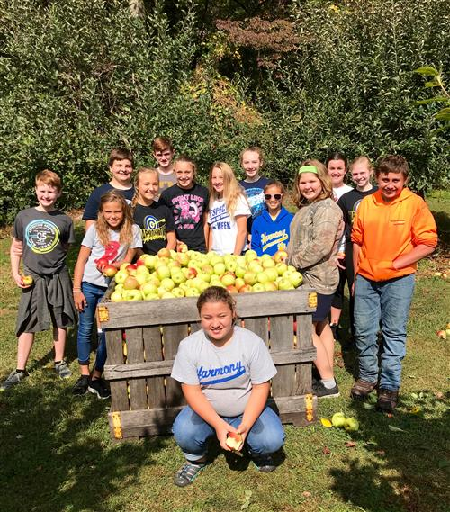 Student Council @ McKeever Orchards