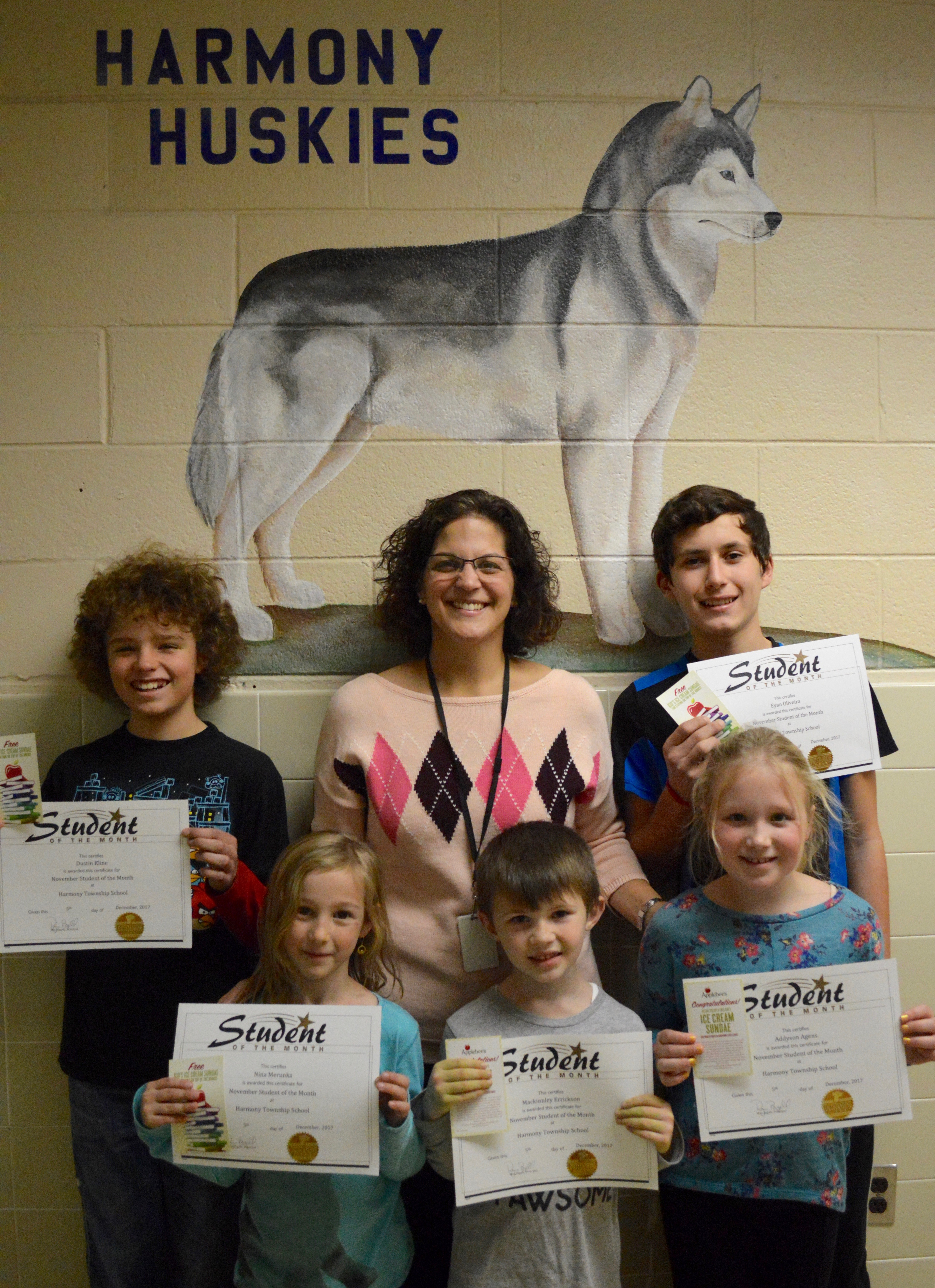 November 2017 - Students of the Month