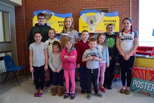 PTA Spring Book Fair Winners
