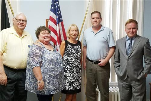 Local board members meet with Sen. Mike Doherty