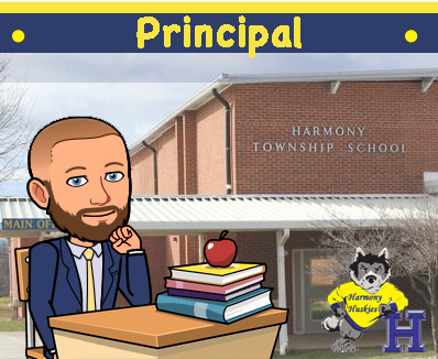 Mr. Brian Staples - Principal - Harmony Township School