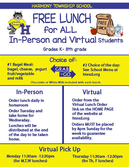 FREE Lunch for ALL Students