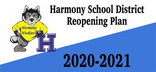 Harmony School District Reopening Plan