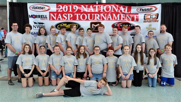 Harmony Township School ARCHERS advance to the NASP World Tournament in Nashville, Tennessee