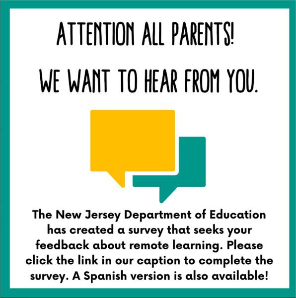 Attention ALL Parents! We want to hear from you!