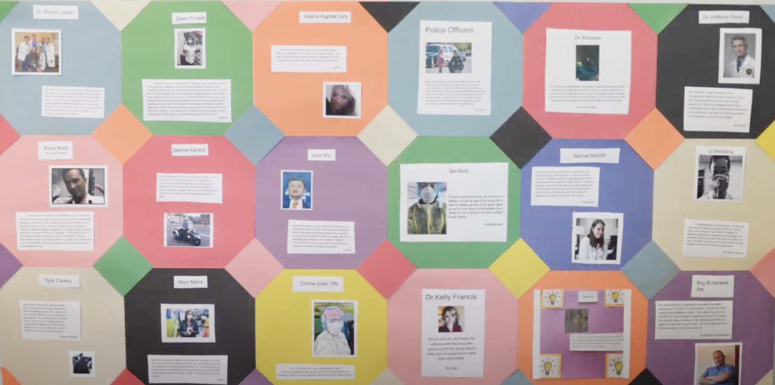 6th Grade - Heroes of the Pandemic Quilt